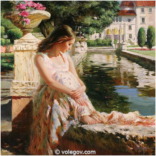 Volegov Com Summer Thoughts Painting