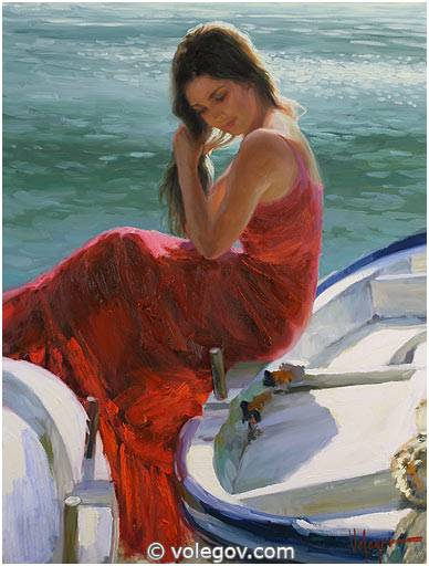 http://www.volegov.com/photos/1000/226/girl-in-red-on-boat-painting_226_3344.jpg