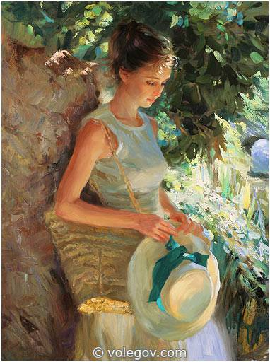 Russian Paintings Of Women Volegov.com :: WAITING...