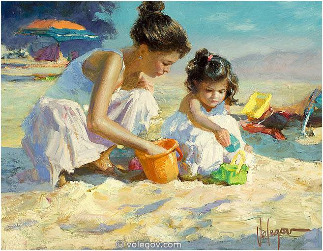 http://www.volegov.com/photos/1000/72/playing-on-the-beach-painting_72_4720.jpg